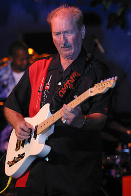 James Burton Poster