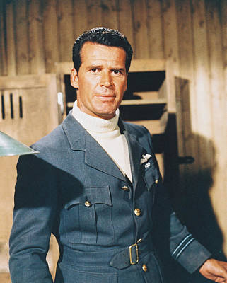 James Garner In The Great Escape Poster by Silver Screen