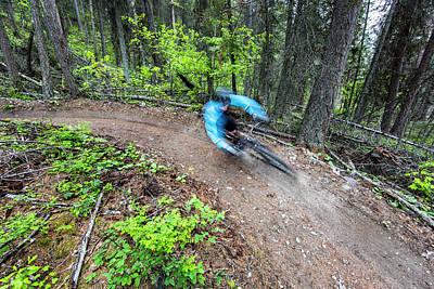 Jared Lynch Mountain Biking The North Poster