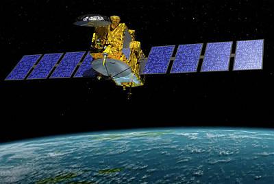 Jason-3 Satellite Poster