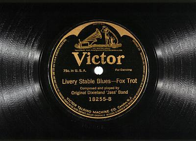 Jazz Record, 1917 Poster