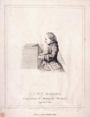 J.c.w.t. Mozart Poster