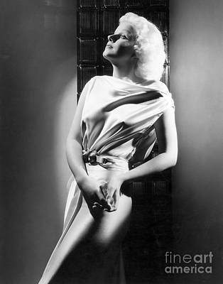 Jean Harlow Poster by MMG Archive Prints