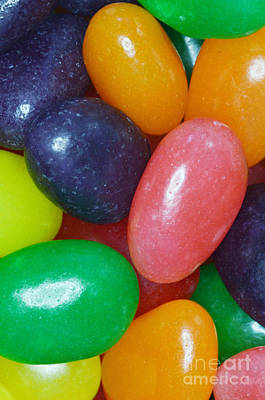 Jelly Beans Poster by Photo Researchers, Inc.