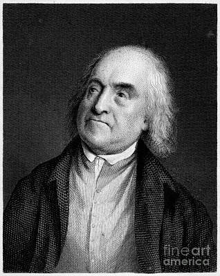 Jeremy Bentham, English Social Reformer Poster by Middle Temple Library