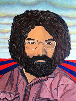 Jerry Garcia Poster by Joe Ballone