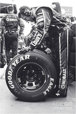 Jimmie Johnson Pit Crew Poster