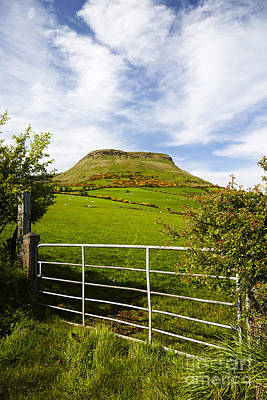 Joe Fox Fine Art - Lurigethan Mountain Glenariff County Antrim Northern Ireland Poster by Joe Fox
