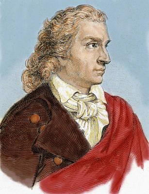 Johann Christoph Friedrich Von Schiller Poster by Prisma Archivo