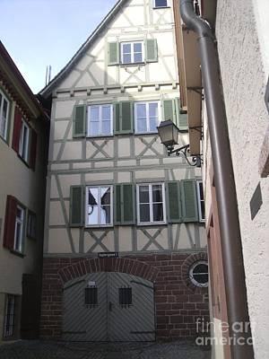Johannes Keplers Birthplace Poster by Detlev van Ravenswaay