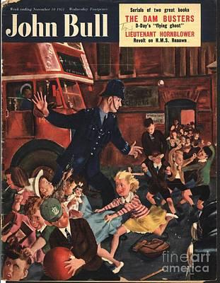 John Bull 1951 1950s Uk Naughty Poster by The Advertising Archives