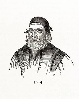 John Dee, English Astrologer Poster
