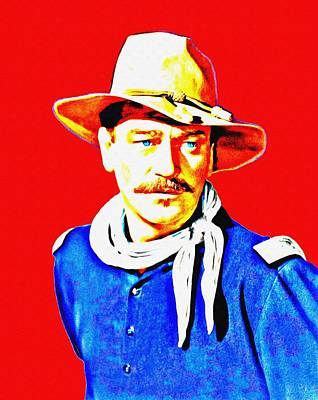 John Wayne In Rio Grande Poster by Art Cinema Gallery