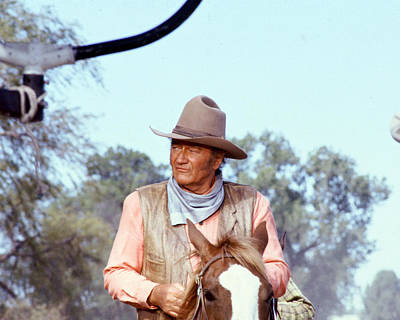 John Wayne In The Undefeated Poster