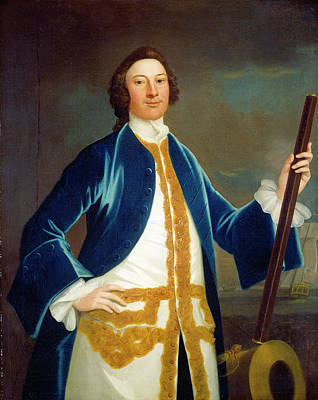 John Wollaston American, Active 1742-1775 Poster by Quint Lox