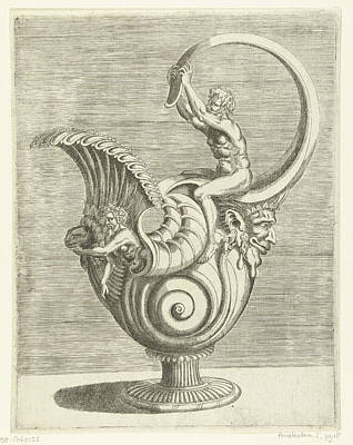 Jug In The Form Of A Snail Shell, Balthazar Van Den Bos Poster