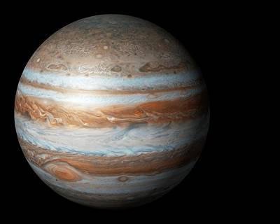 Jupiter From Space Poster by Mikkel Juul Jensen