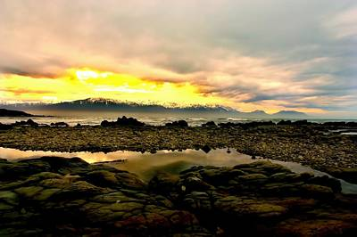 Poster featuring the photograph Kaikoura Coast New Zealand by Amanda Stadther