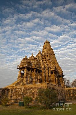 Kandariya Mahadeva Temple Khajuraho India Poster