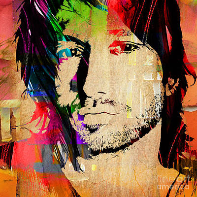 Keith Urban Collection Poster by Marvin Blaine