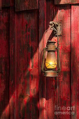 Kerosene Lantern Poster by Carlos Caetano