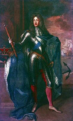 King James II Of England (1633-1701) Poster
