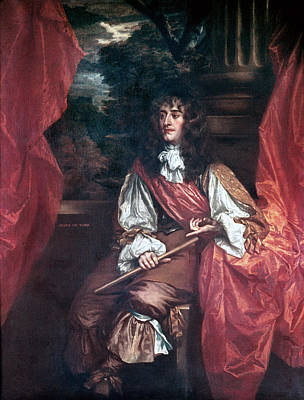 King James II Of England Poster by Granger