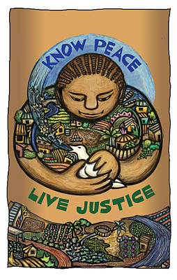 Know Peace Poster by Ricardo Levins Morales