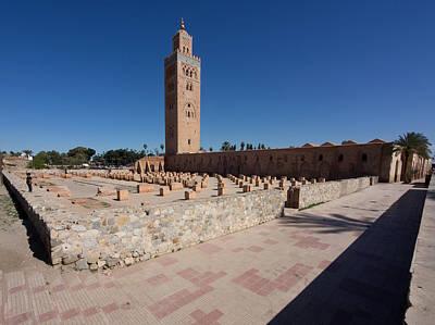 Koutoubia Minaret Built By Yacoub El Poster