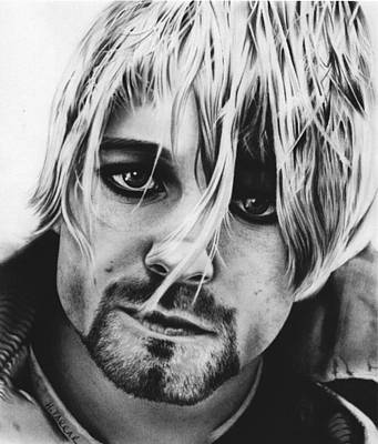 Kurt Cobain Day Poster by Heidi Farrar