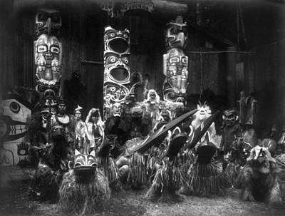 Kwakiutl Dancers, C1914 Poster
