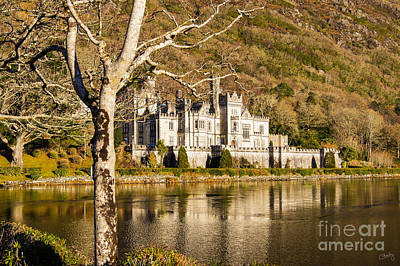 Kylemore Abbey In Winter Poster