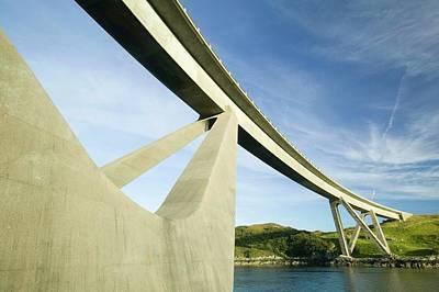 Kylesku Bridge In Assynt Poster