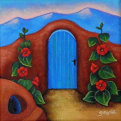 La Puerta Azul Poster