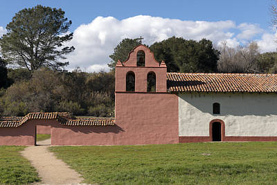 La Purisima Mission In Lompoc Poster