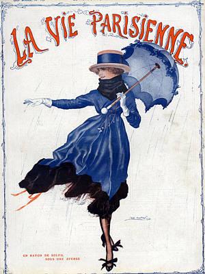 La Vie Parisienne 1918 1910s France Leo Poster