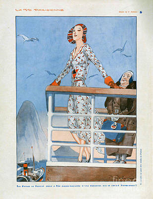 La Vie Parisienne  1930 1930s France Cc Poster by The Advertising Archives