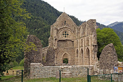 L'abbaye De Saint-jean-d'aulps Poster by Rod Jones