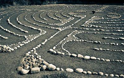 Labyrinth Journey Poster by Ronda Broatch