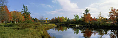 Lake In A Forest, Mount Desert Island Poster by Panoramic Images