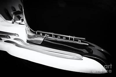 Lambretta Monochrome Poster