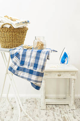 Laundry Room Poster by Amanda Elwell