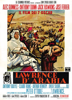 Lawrence Of Arabia, Aka Lawrence Poster by Everett