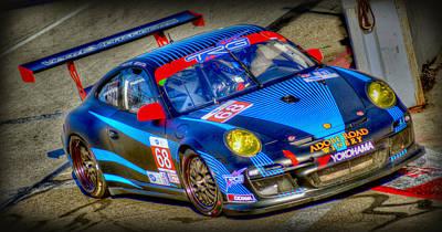 Lbgp Porsche Poster by Craig Incardone