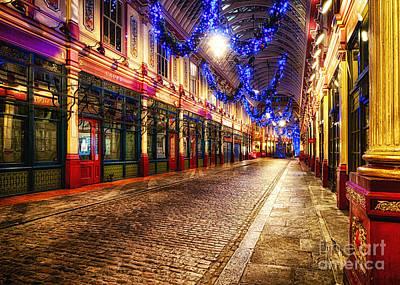 Leadenhall Christmas Lights Poster