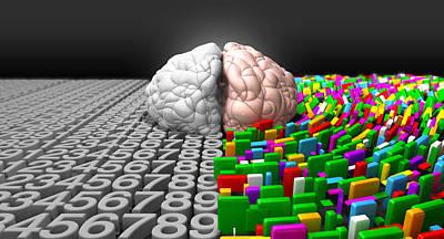 Left Brain Right Brain Poster