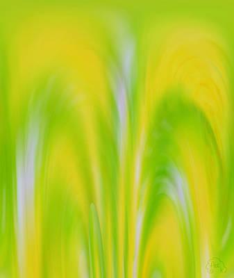 Lemon Lime Poster by Patricia Kay