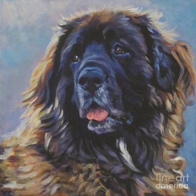 Leonberger Poster by Lee Ann Shepard