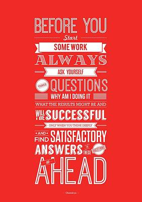 Life Motivating Quotes Poster Poster by Lab No 4 - The Quotography Department