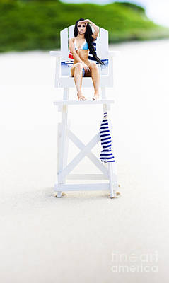 Lifeguard Poster by Jorgo Photography - Wall Art Gallery